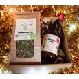 Darilni paket - čaj in masažno olje