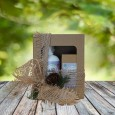 Darilni paket - milo in vlažilna krema za moške