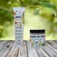 Krema z zaščitnim faktorjem 25 in losjon po sončenju
