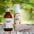 Micelarna vodica, olje za odstranjevanje ličil in blazinice za čiščenje obraza - komplet