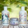 Šampon, peneča kopel in krema za otroke - komplet
