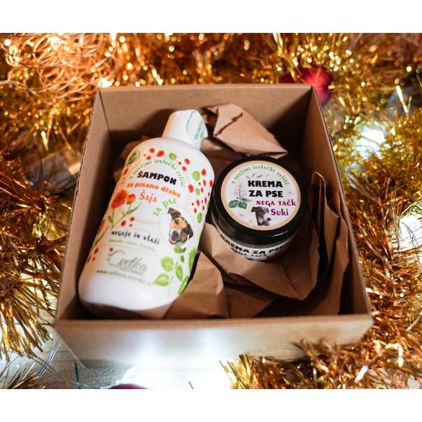 Darilni paket - šampon in krema za pse