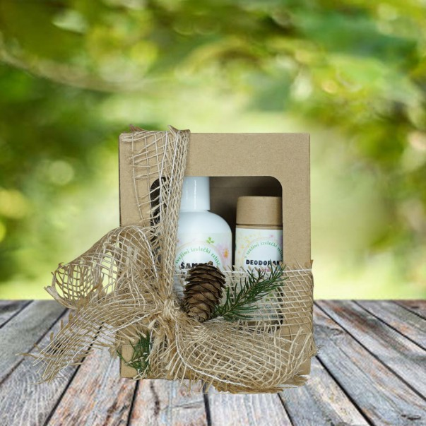 Darilni paket - šampon in deodorant