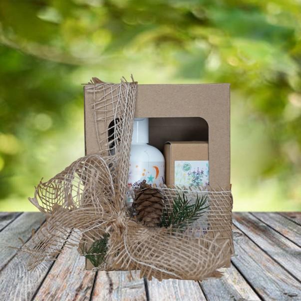Darilni paket - peneča kopel in vlažilna krema za otroke