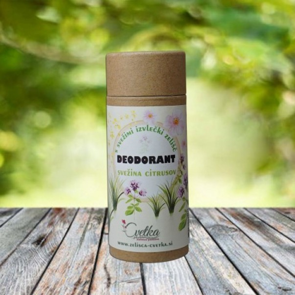 Bio zeliščni deodorant Svežina citrusov
