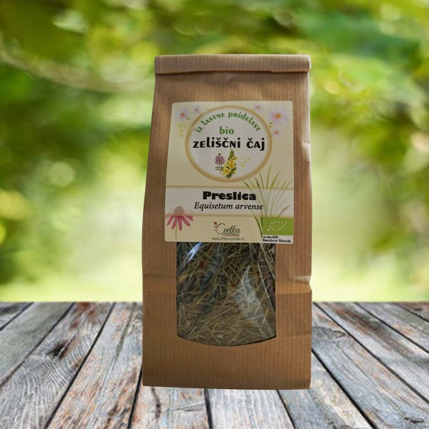 Njivska preslica (Equisetum arvense) – bio zeliščni čaj