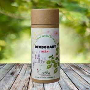 Bio zeliščni deodorant Nežni, brez sode bikarbone