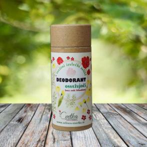 Bio zeliščni deodorant Osvežujoči, brez sode bikarbone
