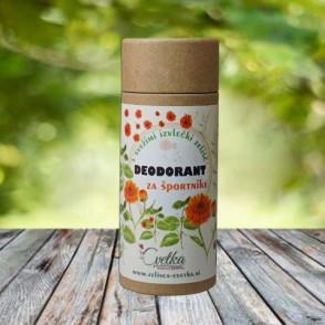 Bio zeliščni deodorant Za športnike