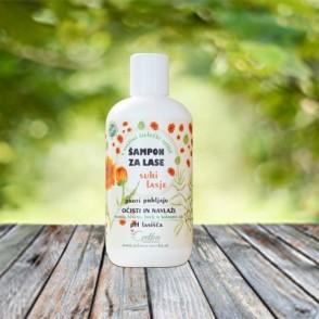 Šampon za suhe lase z bio zelišči