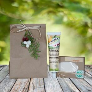 Darilni paket - trd šampon in maska za lase