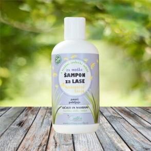 Šampon za normalne lase z bio zelišči - za moške