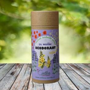 Bio zeliščni deodorant za moške - Nežni