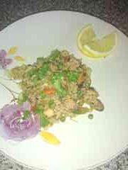 Morska rižota s petršiljem