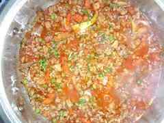 Špageti s paradižnikovo omako po Cvetkino